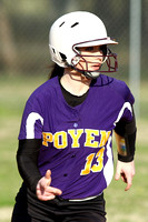 Poyen @ Glen Rose softball 3-28-2015 (©Justin Manning) JWM_0015