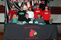 Zachary Caplinger baseball letter of intent signing 4-15-15