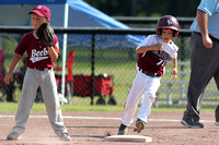 Benton vs. Beebe 6 year old All-Stars 6-28-15