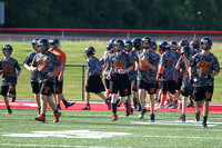 Harmony Grove Football Team Camp 7-27-2015 (©Justin Manning) JWM_0001