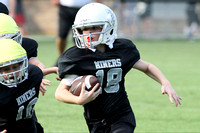 Bauxite Black-Gray games 4th, 5th, 6th, Junior high, Senior high scrimmage 8-22-13