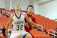 Glen Rose vs. Bismarck Boys 3A District Tournament 2-18-15