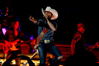 Justin Moore Concert with Randy Houser & Josh Thompson 4-25-14 (Publication Use only)